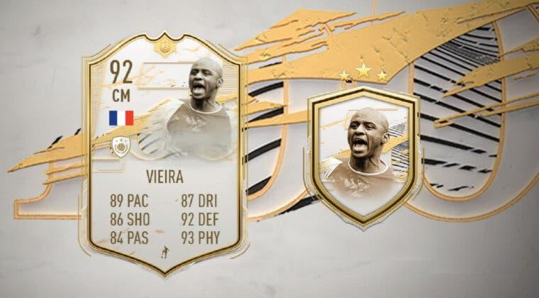 Imagen de FIFA 21: Vieira Moments ya está disponible como Icono SBC