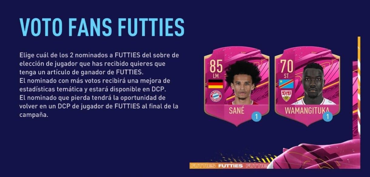 FIFA 21: llega una nueva votación FUTTIES a Ultimate Team