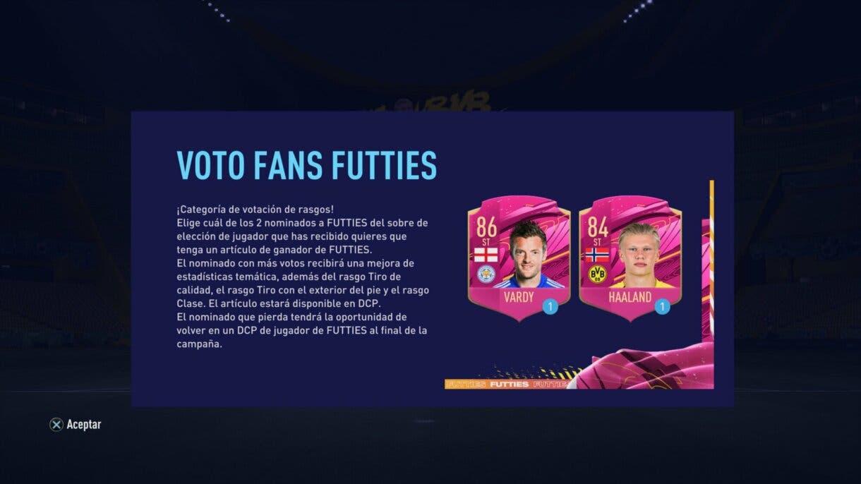 FIFA 21: nueva votación de delanteros FUTTIES Ultimate Team