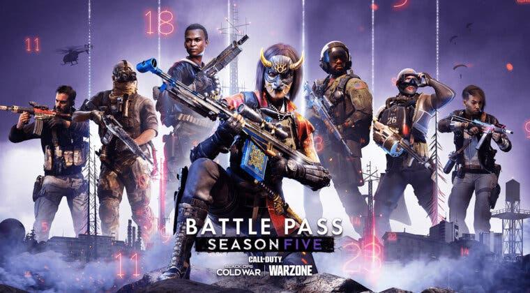 Imagen de Todos los niveles y recompensas del Pase de Batalla de la temporada 5 en Warzone y Black Ops Cold War
