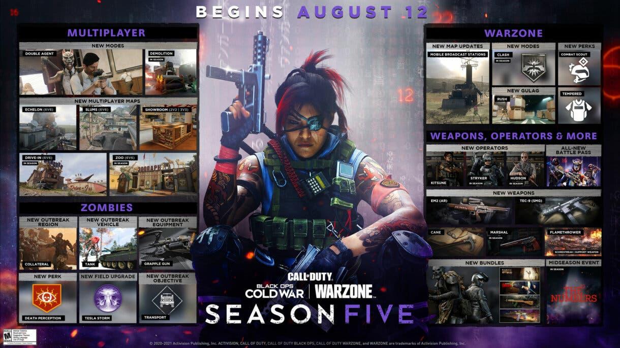 warzone season 5 hoja ruta