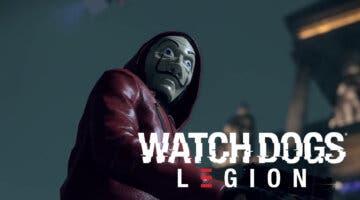 Imagen de Watch Dogs Legion anuncia crossover con la serie La Casa de Papel