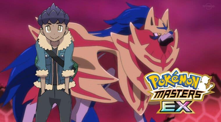 Imagen de Pokémon Masters EX: Suma a tu equipo a Paul y Zamazenta completando su Evento Legendario