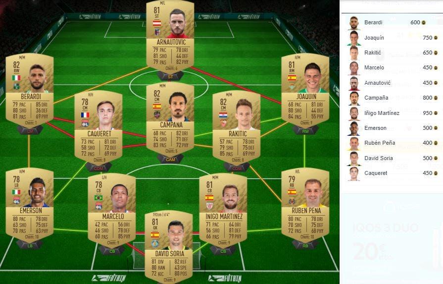 FIFA 22 Ultimate Team SBC Shaqiri Ones to Watch OTW