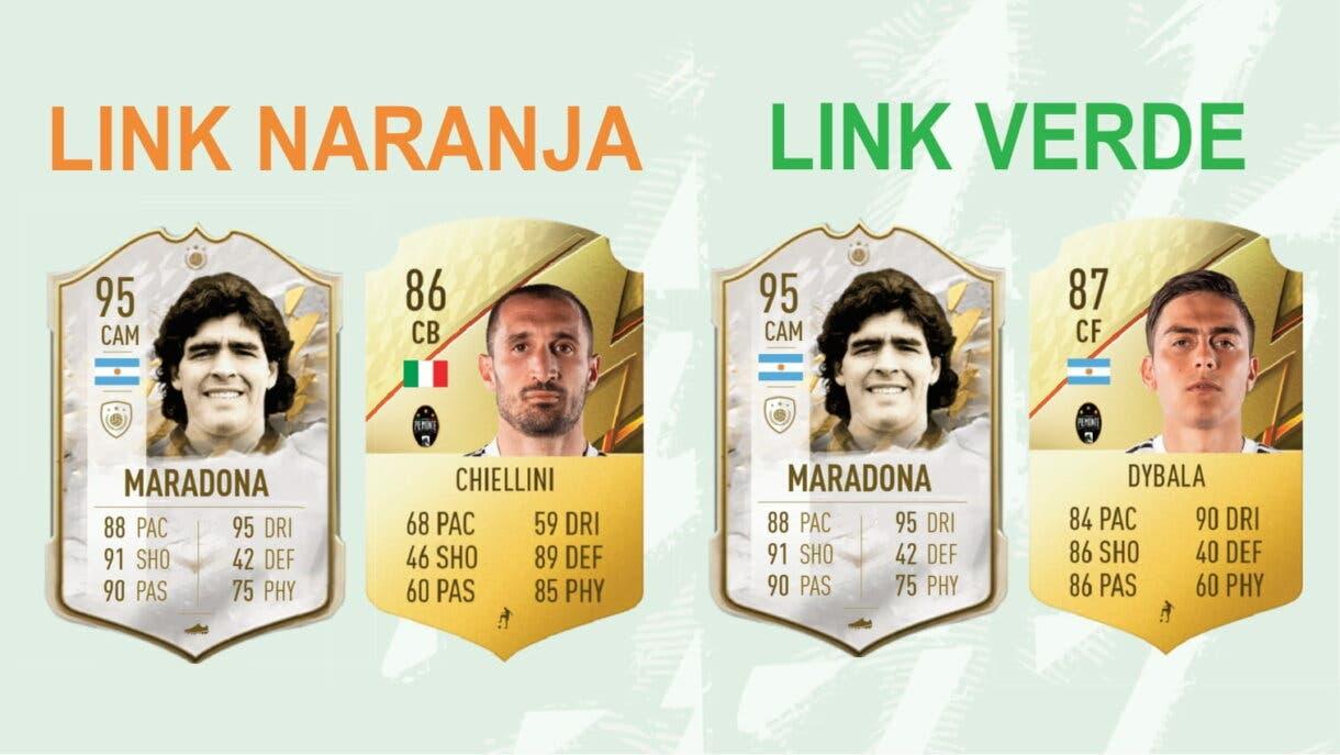FIFA 22: así funcionan los links según el tipo de carta (Icono, FUT Heroes o jugador en activo) (Academia de FUT) Ultimate Team