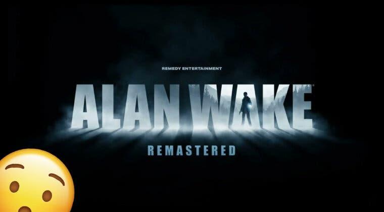 Imagen de Alan Wake Remastered ya es oficial: plataformas, fecha aproximada y primeros detalles