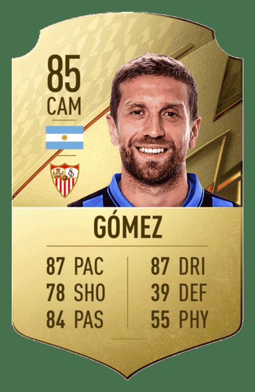 FIFA 22 medias: estos son los 20 mejores jugadores de la Liga Santander en Ultimate Team Gómez