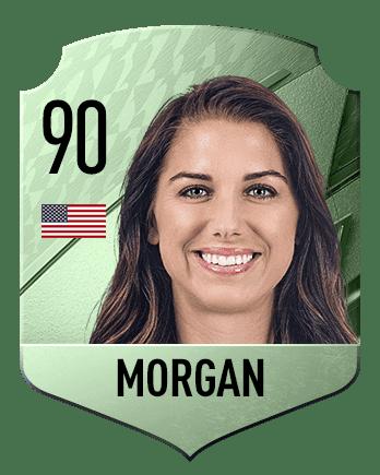 Estas son las mejores jugadoras de FIFA 22 (medias) Morgan