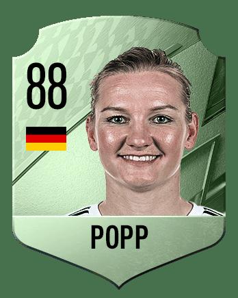 Estas son las mejores jugadoras de FIFA 22 (medias) Popp