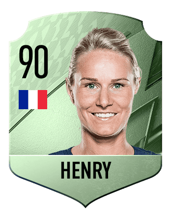 Estas son las mejores jugadoras de FIFA 22 (medias) Henry