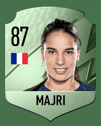 Estas son las mejores jugadoras de FIFA 22 (medias) Majri