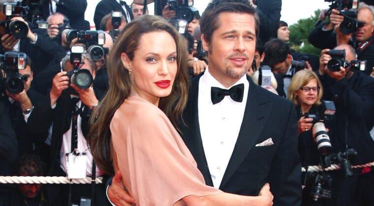 Imagen de El último palo de Angelina Jolie a Brad Pitt con Harvey Weinstein de por medio