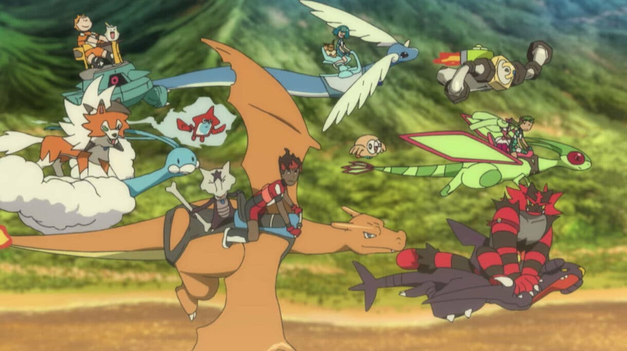 anime de Pokemon Sol y Luna despedida final