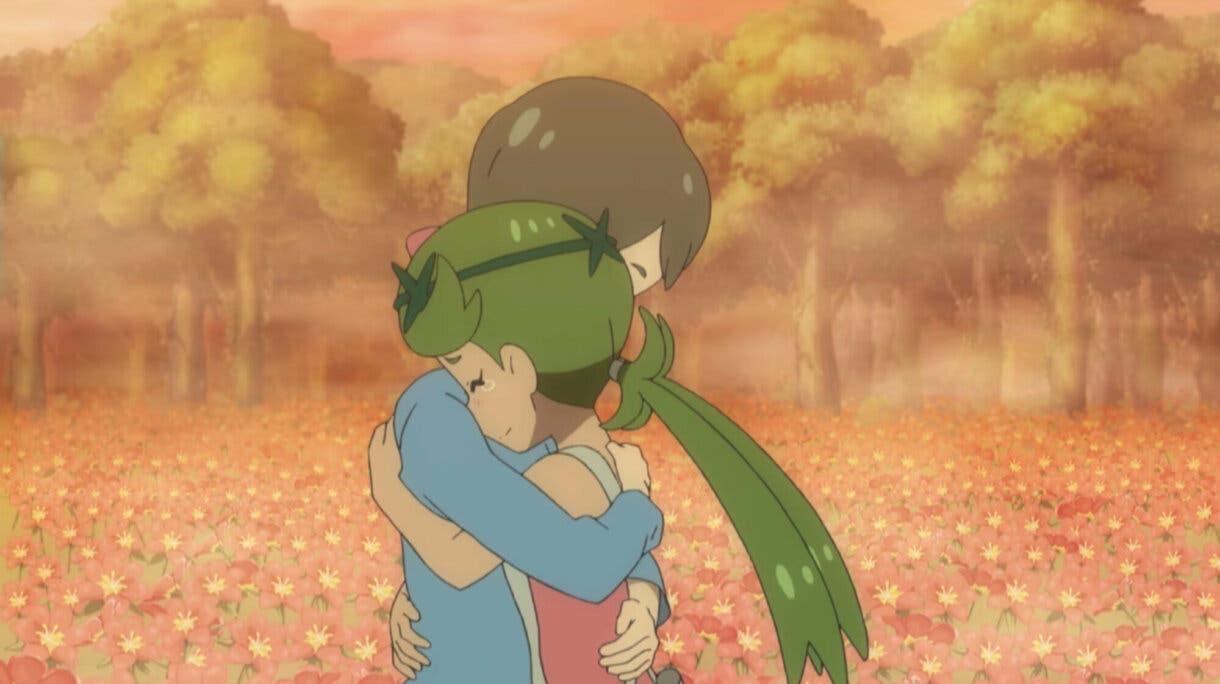 anime de Pokemon Sol y Luna Lulu y su madre