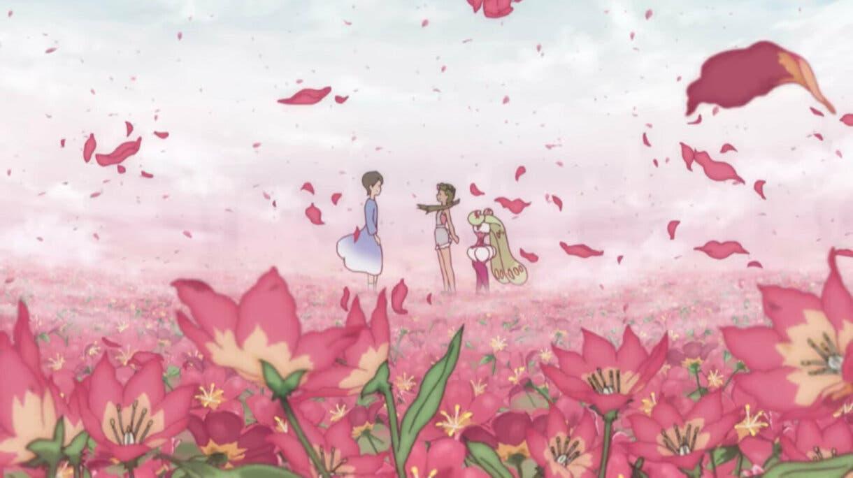 anime de Pokemon Sol y Luna Lulu y su madre Gracideas