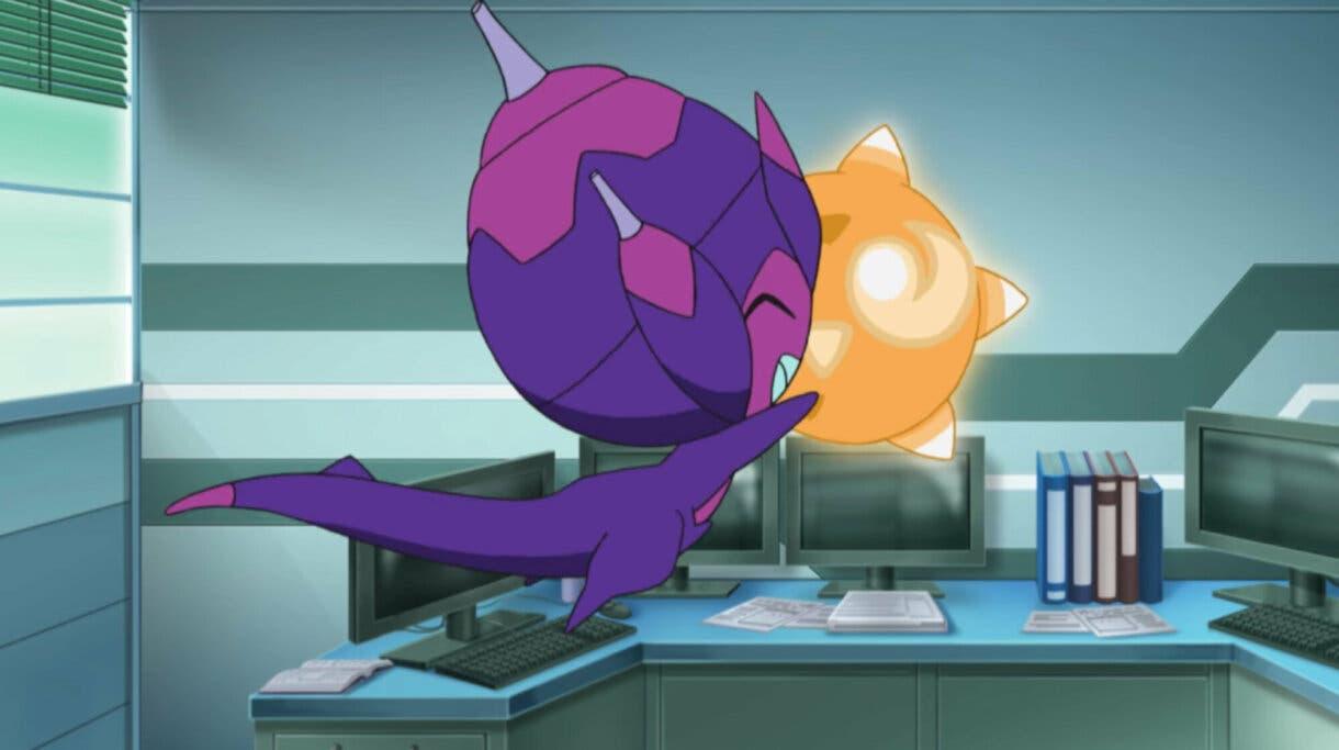 anime de Pokemon Sol y Luna Poipole y Minior