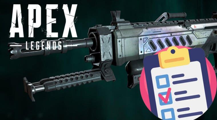 Imagen de Apex Legends: descubre tu arma ideal para el meta de la temporada 10 con este test