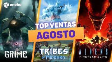 Imagen de Hasta un 83% de DTO en el ranking de los juegos más vendidos en agosto en Eneba