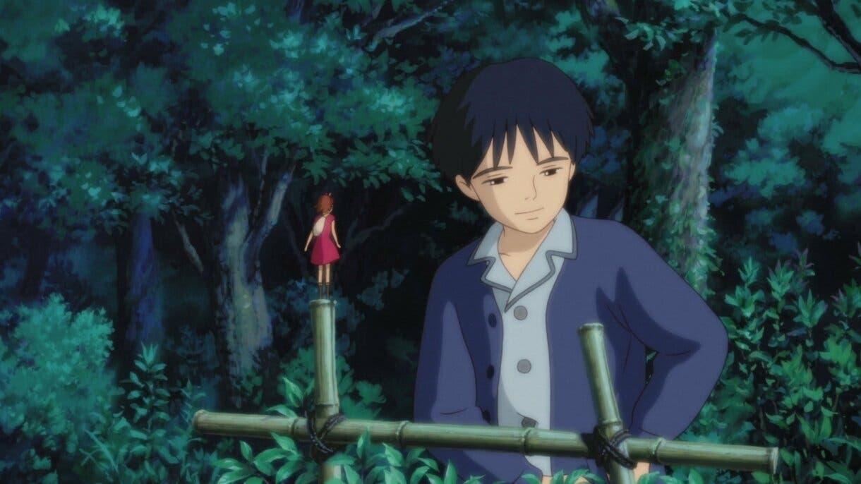 Arrietty y Sho despedida Studio Ghibli