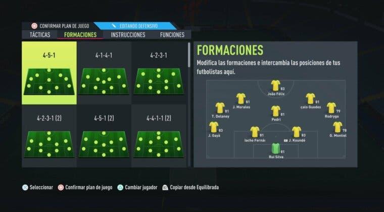 Imagen de FIFA 22: ¿Cuál es la mejor formación y táctica para tus primeros partidos de Ultimate Team?