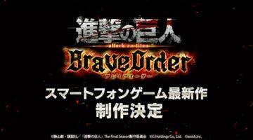 Imagen de Attack on Titan: Brave Order es anunciado como un 'RPG multijugador de cooperación'
