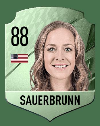 Estas son las mejores jugadoras de FIFA 22 (medias) Sauerbrunn