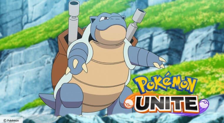 Imagen de Pokémon UNITE suma a Blastoise a su plantel de personajes