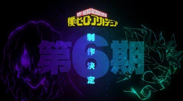 Imagen de Boku no Hero Academia revela el primer teaser de su temporada 6