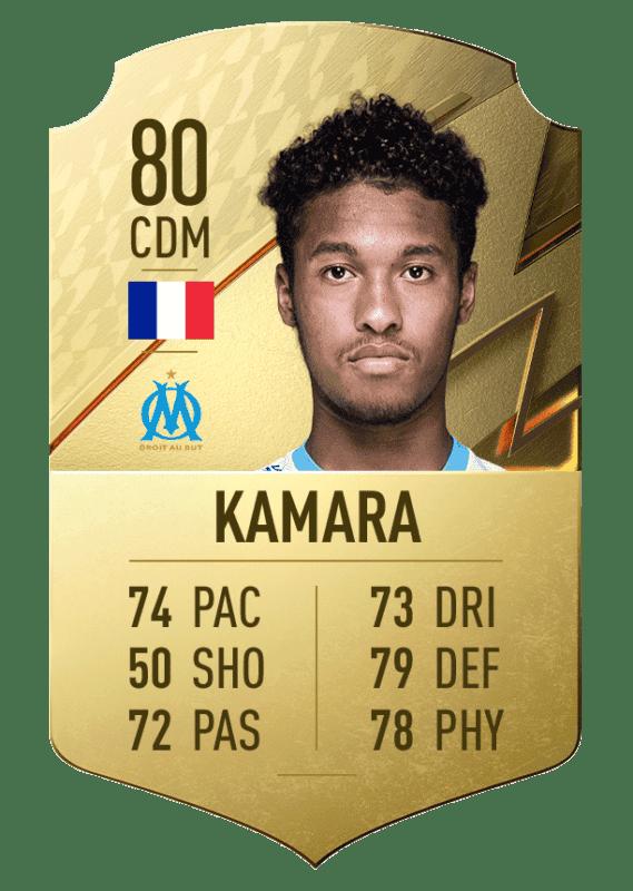 FIFA 22 medias: estos son los mejores jugadores Sub-21 de Ultimate Team y Modo Carrera Kamara