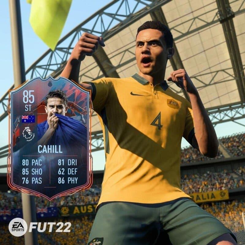 El propio Tim Cahill ha revelado su carta de FIFA 22.