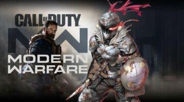 Imagen de Acusan a Call of Duty de plagiar al anime Goblin Slayer para una de sus skins