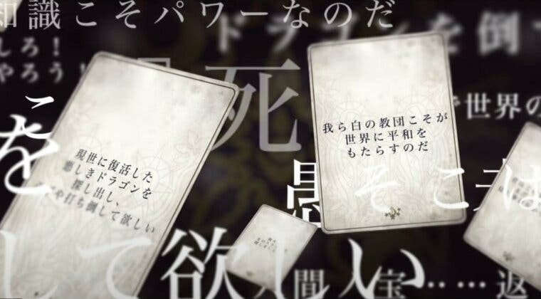 Imagen de Square Enix anuncia Voice of Cards: The Isle Dragons Roars, un nuevo RPG de cartas