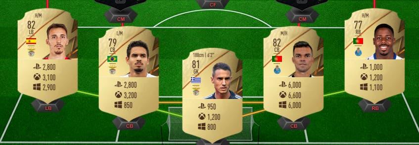 FIFA 22: defensa competitiva de bajo precio para enfrentarse a los rivales más exigentes (pueden linkearse fácilmente) Ultimate Team precio individual