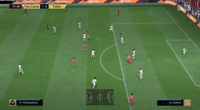 Imagen de FIFA 22: aquí puedes ver el primer partido completo de Ultimate Team entre pro players