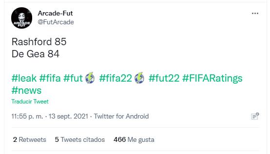 FIFA 22: las medias de muchas cartas de las principales ligas son filtradas Ultimate Team