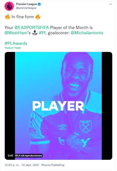 FIFA 22: desvelado el ganador del primer POTM de la Premier League Ultimate Team