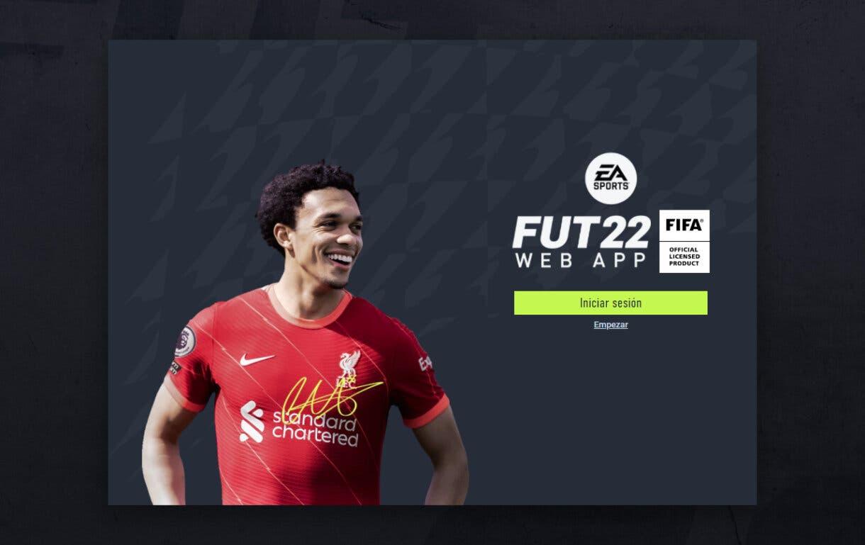 FIFA 22: ya está disponible la Web App de Ultimate Team. Aquí tienes el enlace