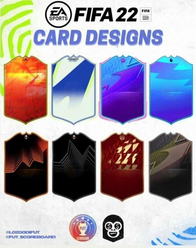 FIFA 22: filtrados los diseños de muchas versiones especiales (algunas nunca vistas en Ultimate Team) 3