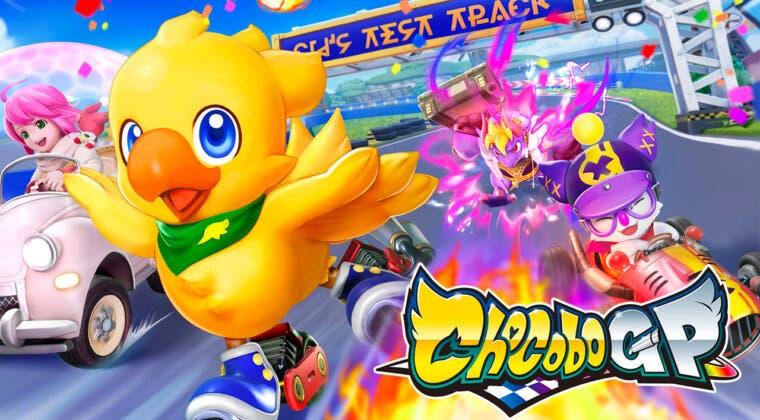Imagen de Final Fantasy se fusiona con Mario Kart para anunciar Chocobo GP