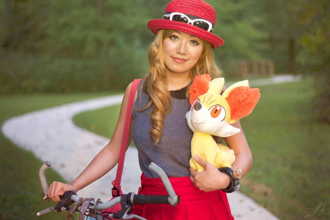 cosplay Serena Pokemon