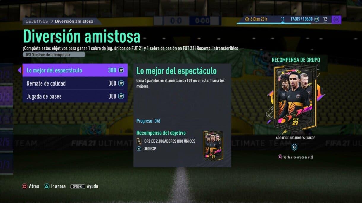 FIFA 21: aparecen más recompensas para FIFA 22 con la segunda semana de Pre-Season Ultimate Team 1