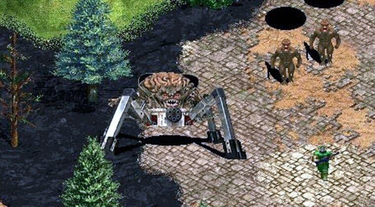 Imagen de Age of Doom: el mod que convierte Doom en un juego de estrategia en tercera persona