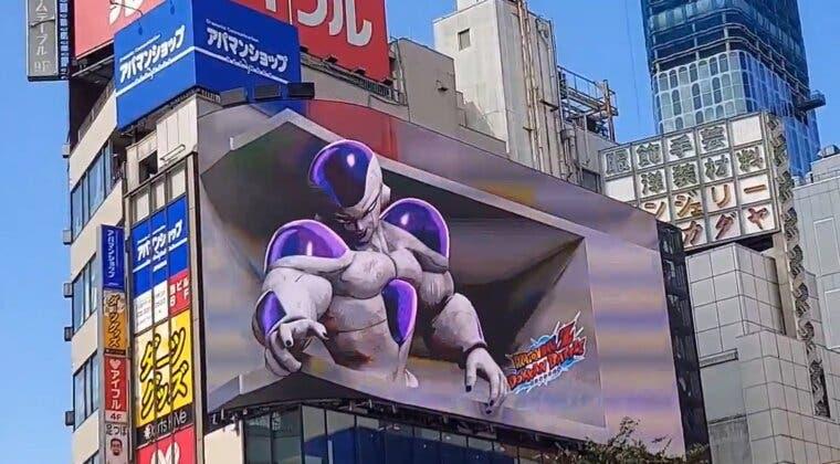 Imagen de Dragon Ball: Así es el brutal Freezer 3D que puede verse ya en Shinjuku (Tokio)