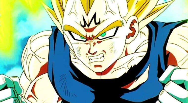 Imagen de Dragon Ball Z: Majin Vegeta protagoniza una asombrosa ilustración 'fan-made'