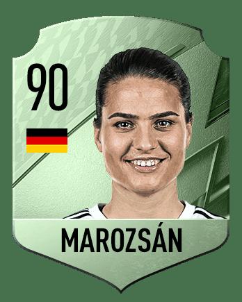 Estas son las mejores jugadoras de FIFA 22 (medias) Marozsán