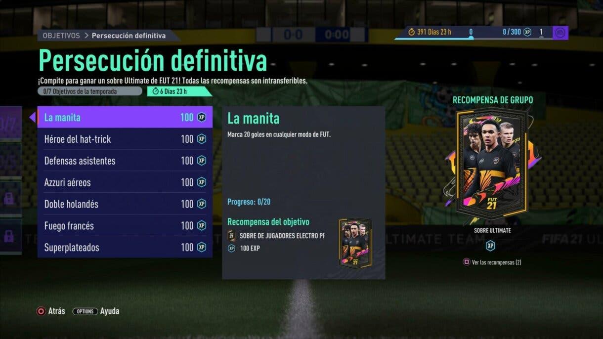 FIFA 21: un nuevo sobre de 125.000 monedas está disponible como free to play Ultimate Team