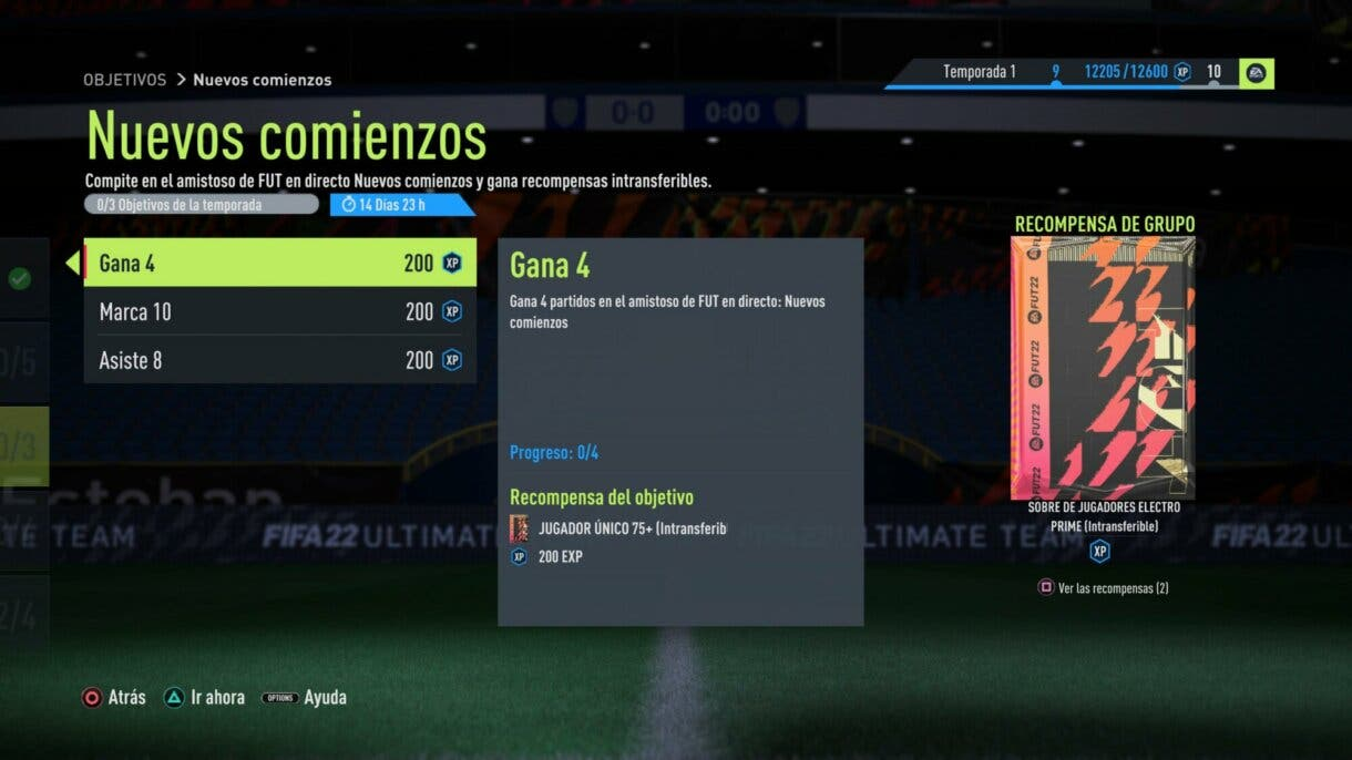 FIFA 22: ya disponible un nuevo sobre gratuito que todos podremos conseguir Ultimate Team