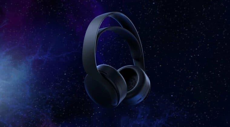 Imagen de PlayStation anuncia los Pulse 3D Midnight Black, los auriculares oficiales de PS5 en color negro