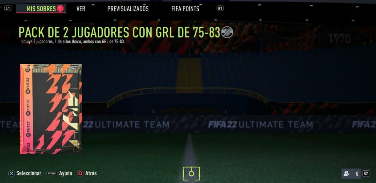 FIFA 22: puede que hayas recibido sobres extra por un error previo de EA Sports Ultimate Team sobres