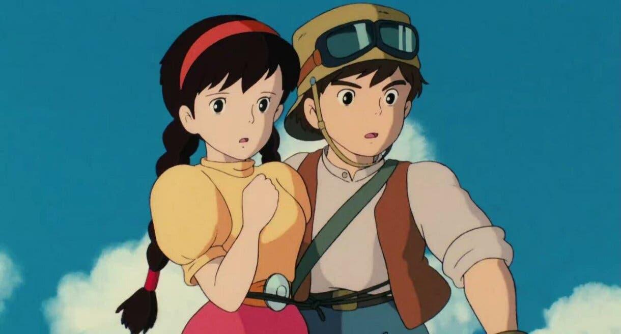 El Castillo en el Cielo Sheeta y Pazu Studio Ghibli